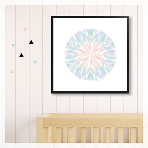 SHINE BRIGHT - pastel diamond