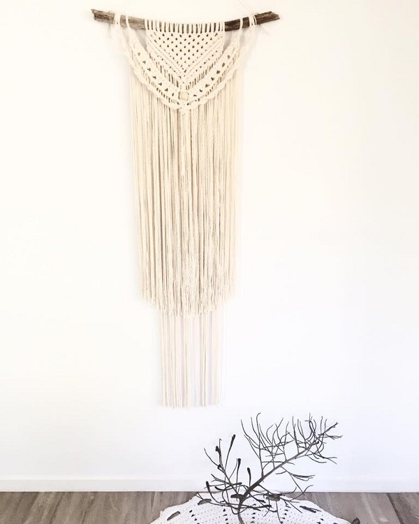 SOLD - LARGE Macrame wall hanging