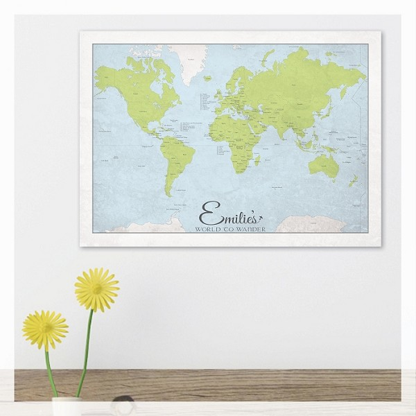 WORLD TO WANDER - Traditional Map